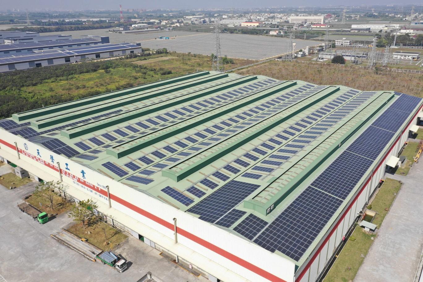 【屋頂型太陽能電廠】高雄路竹/499.72kW