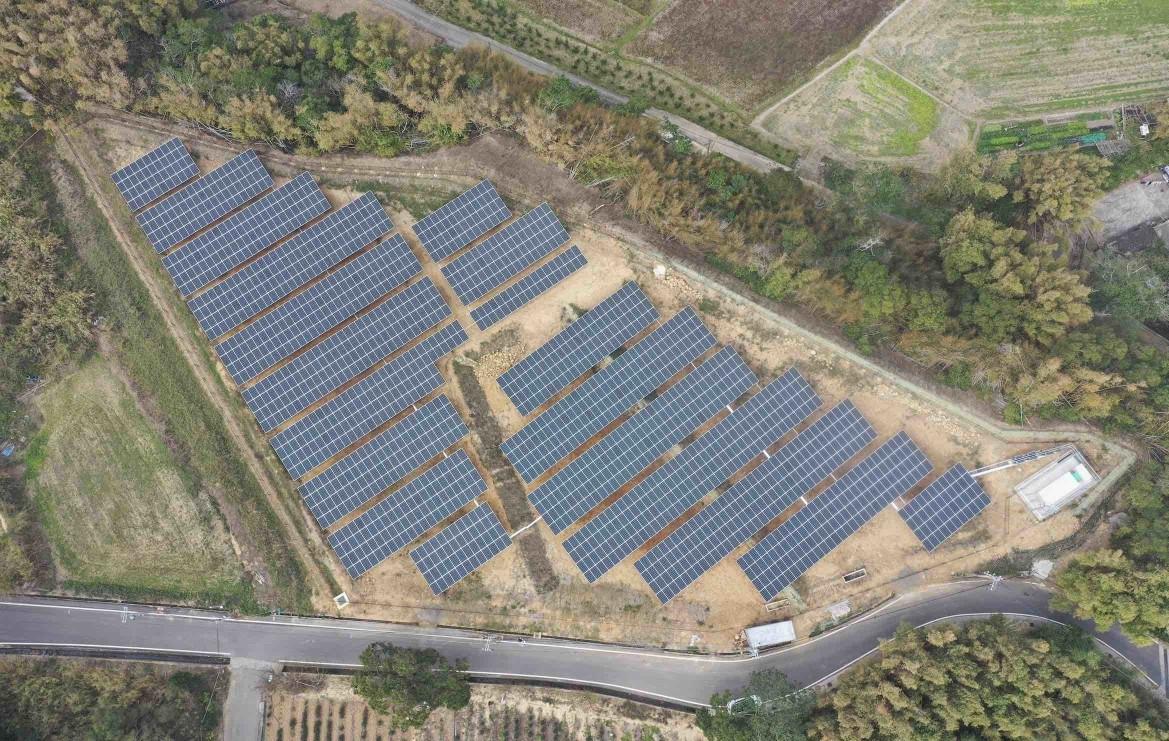【地面型太陽能電廠】苗栗市/628.32kW