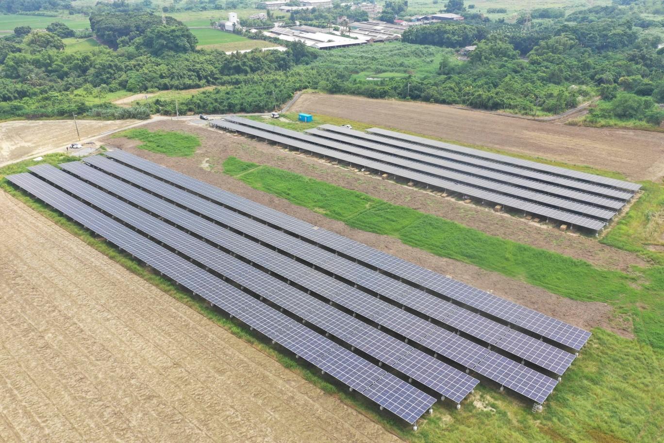 【地面型太陽能電廠】台南白河/999.68kW