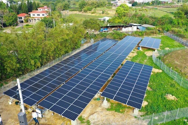 地面型太陽能設置案例