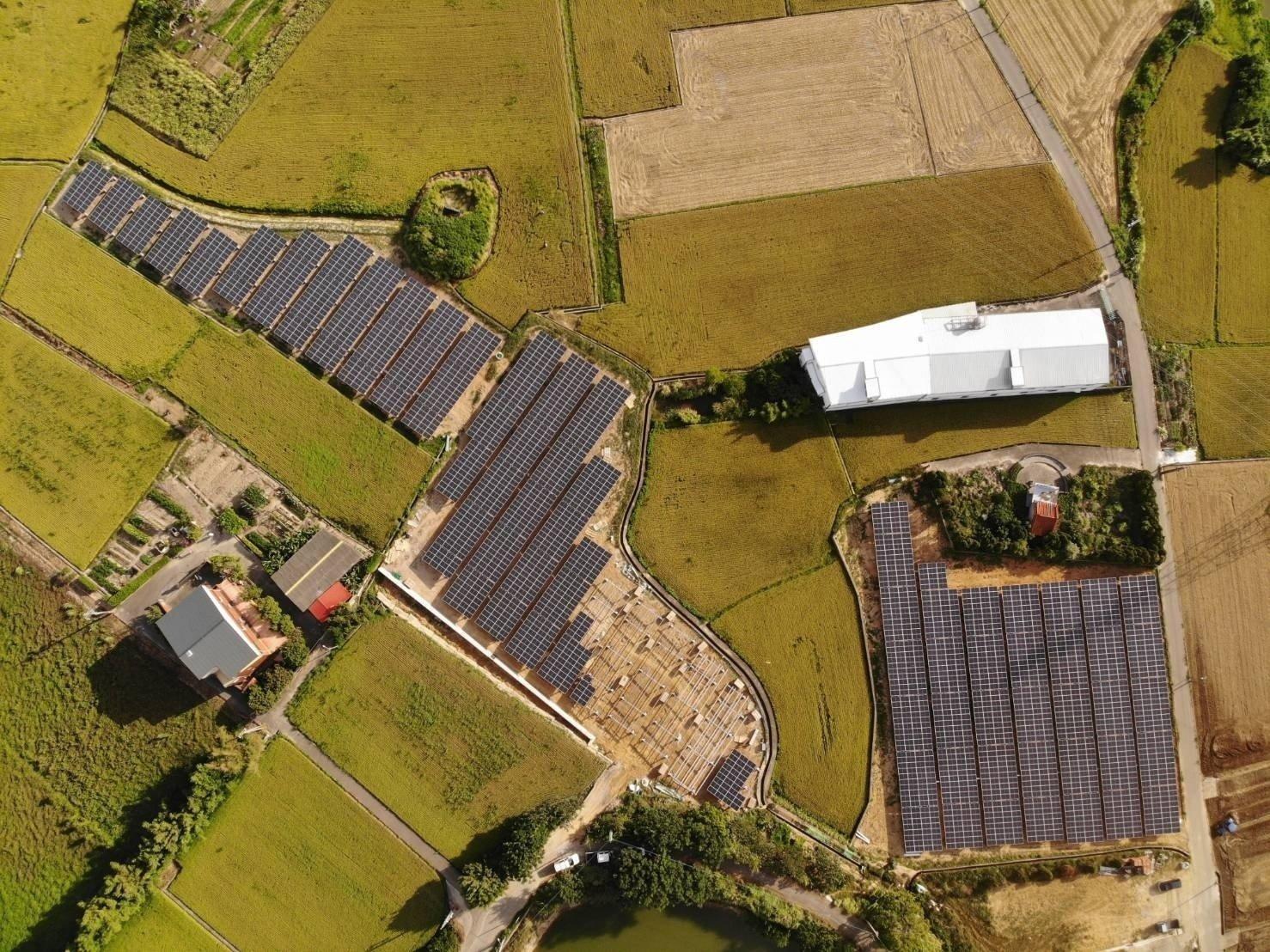 許宇萬太陽能電廠建置前照片
