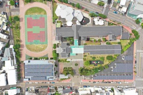 【屋頂型太陽能電廠】苗栗市啟文國小/293.76kW
